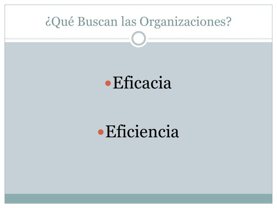 El Papel del Recurso Humano El Recurso Humano como factor principal para alcanzar los objetivos de la organización.