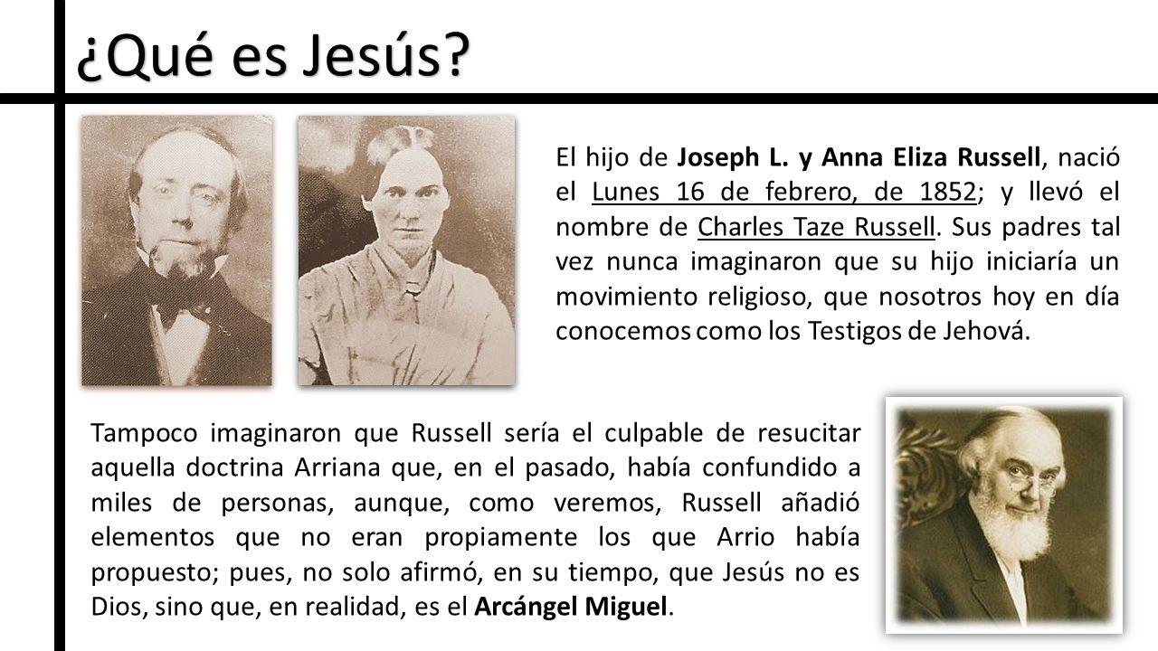 ¿Qué es Jesús.El hijo de Joseph L.