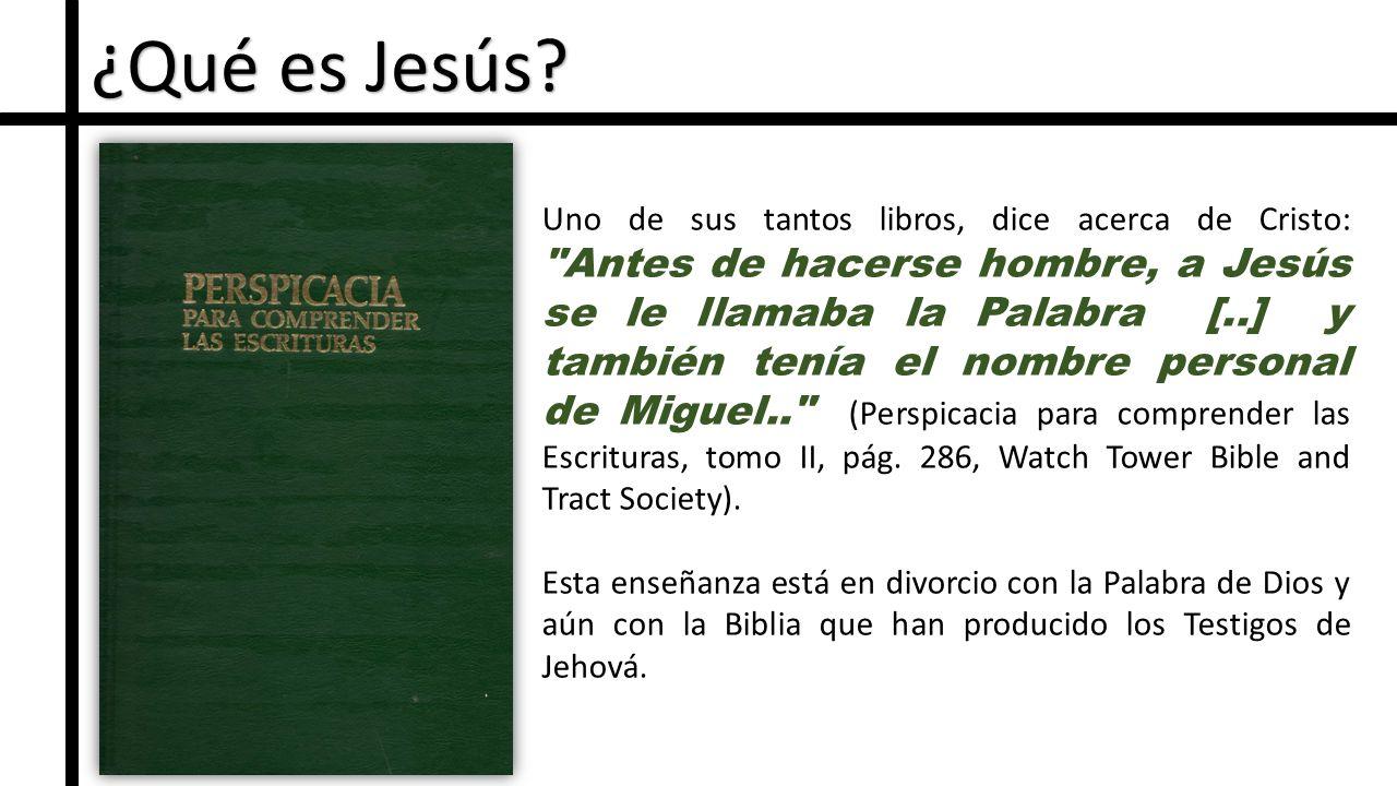 ¿Qué es Jesús.