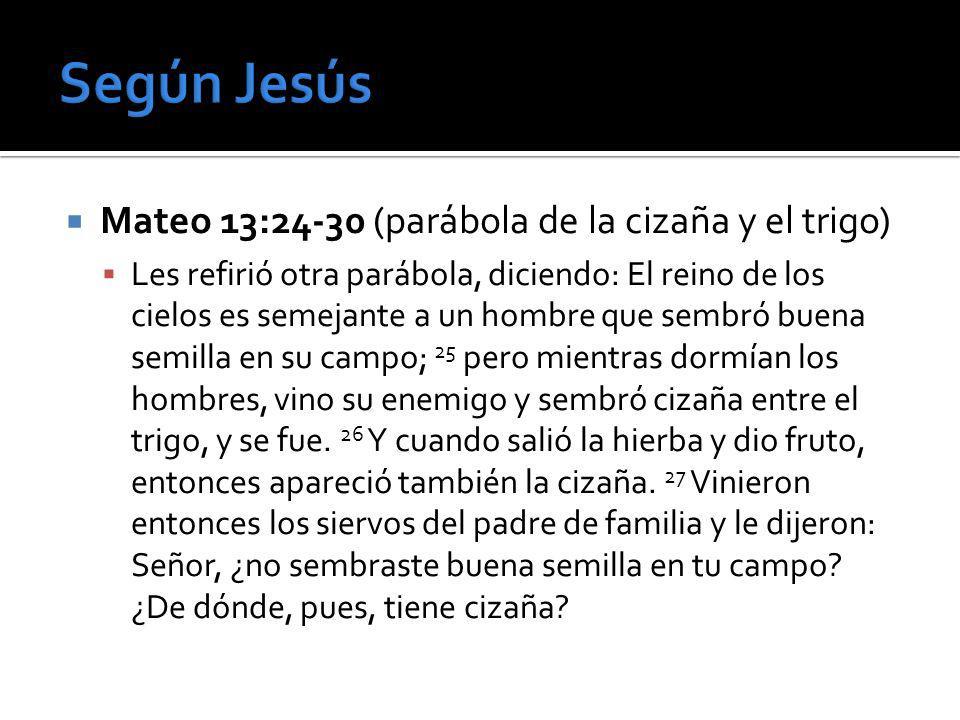 Mateo 24-25 – El sermón apocalíptico 3.Será un día de separación y juicio.