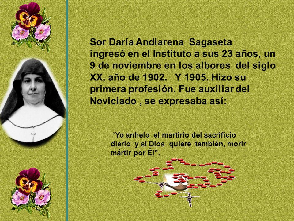 ¿Y cómo le dio Sor Aurora López González al Señor el perfume de su amor y de su belleza.