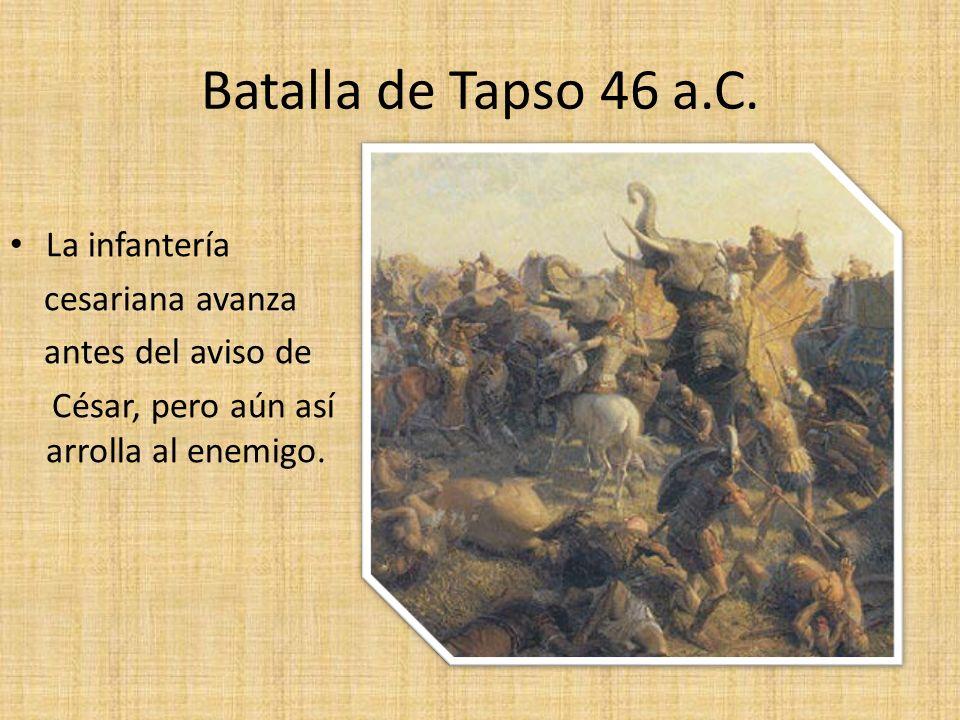 Batalla de Tapso 46 a.C.
