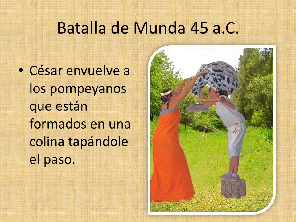 Batalla de Munda 45 a.C.