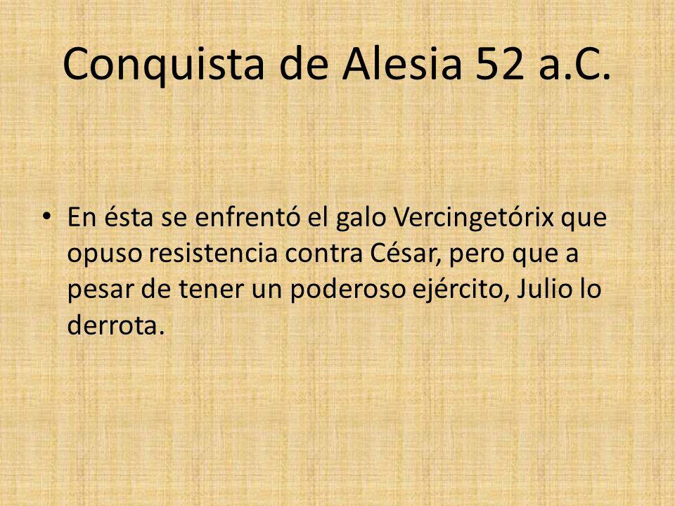 Conquista de Alesia 52 a.C.
