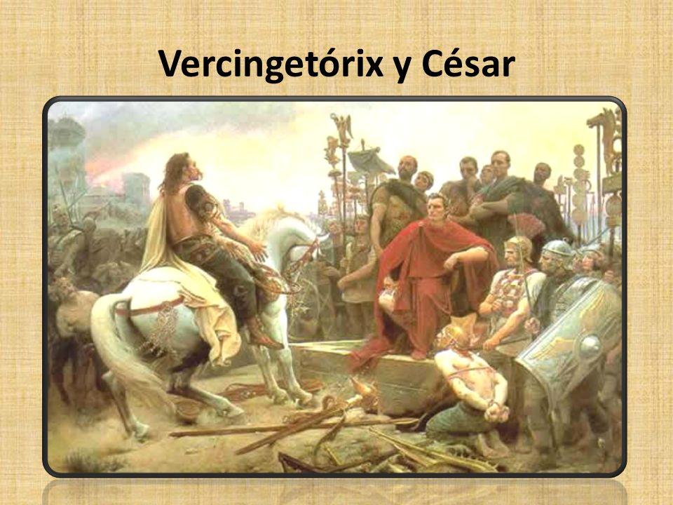 Vercingetórix y César