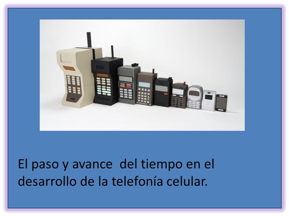 La telefonía Móvil o celular que hace posible la transmisión inalámbrica de voz y datos pudiendo ser estos a alta velocidad en los nuevos equipos de 3