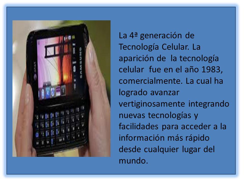 El paso y avance del tiempo en el desarrollo de la telefonía celular.