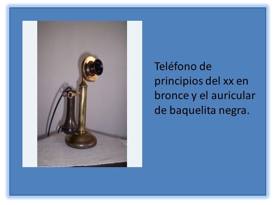 Teléfono fabricado en Dinamarca a principios del sigloXX