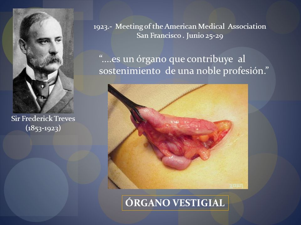 (1853-1923) Sir Frederick Treves 1923.- Meeting of the American Medical Association San Francisco.