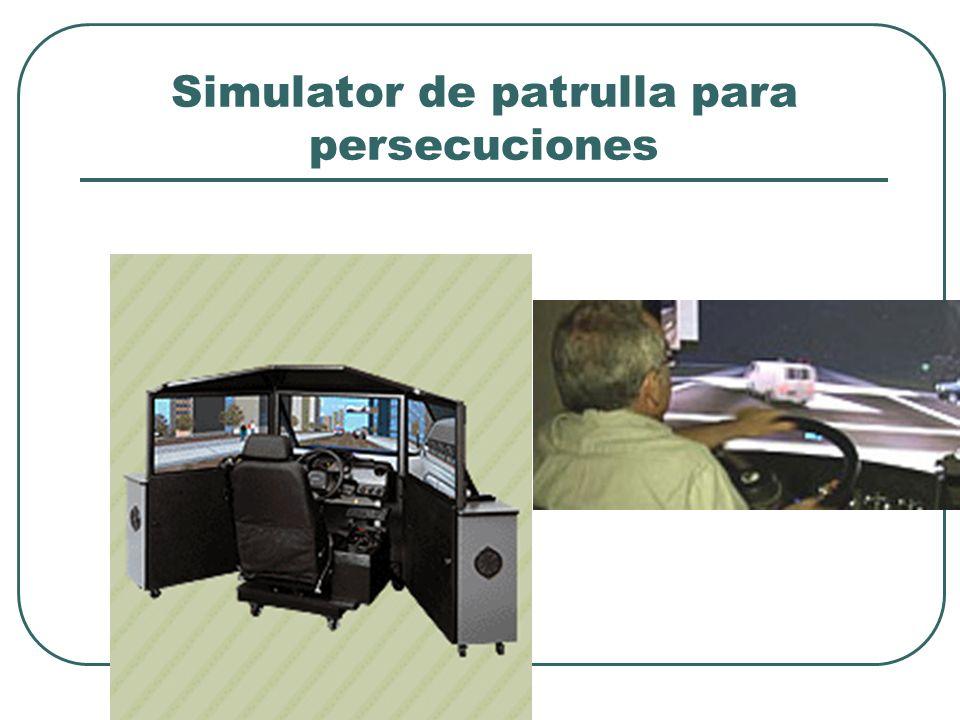 Simulator de patrulla para persecuciones
