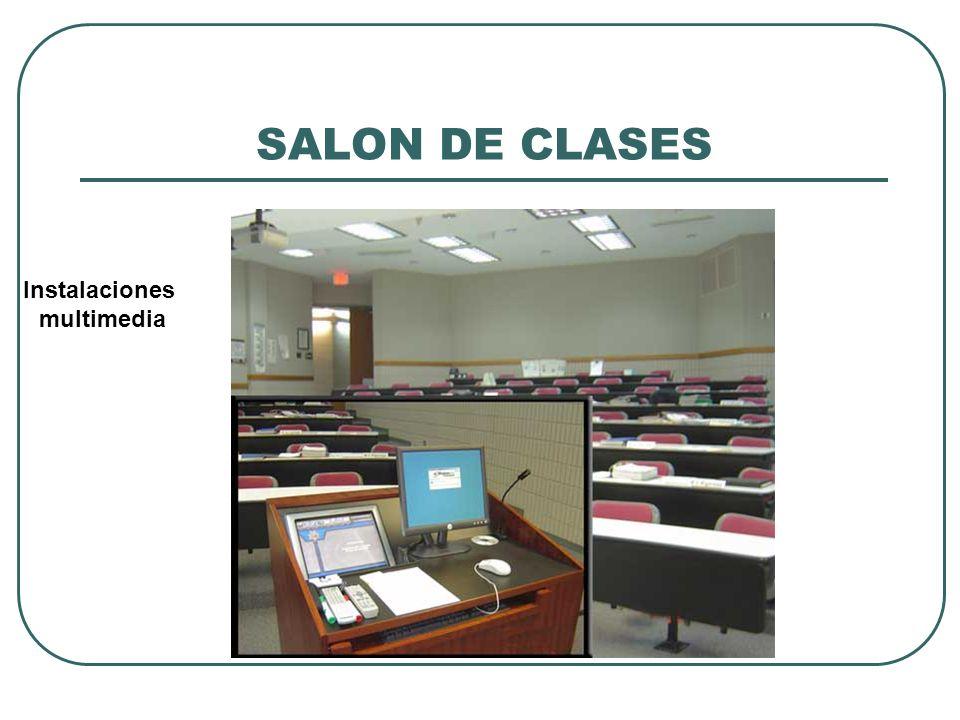SALON DE CLASES Instalaciones multimedia