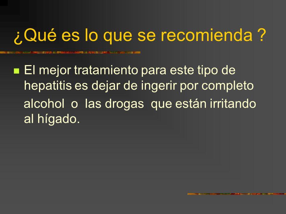 ¿Existen problemas con los medicamentos ? El hígado requiere estar en condiciones saludables para que puede desdoblar la mayoría de los fármacos. Algu