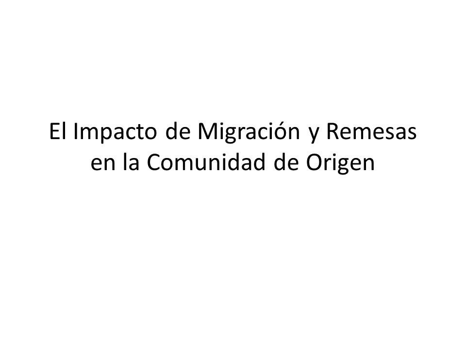 Hogares Receptores de Remesas en 2004 Source: EHPM, 2004