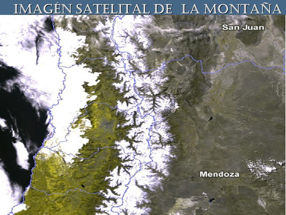 IMAGÉN SATELITAL DE LA MONTAÑA IMAGÉN SATELITAL DE LA MONTAÑA