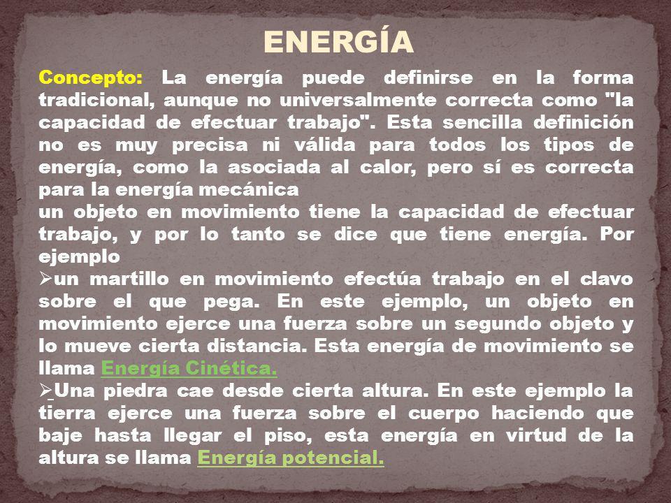 ENERGÍA CINÉTICA (Ec) Energía Cinética y Movimiento (Velocidad).- Para obtener su relación imaginemos una partícula de masa m que se mueve en línea recta con velocidad inicial V i.