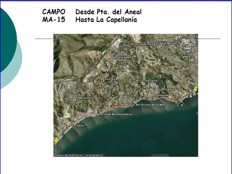 CAMPO MA-15 Desde Pta. del Aneal Hasta La Capellanía
