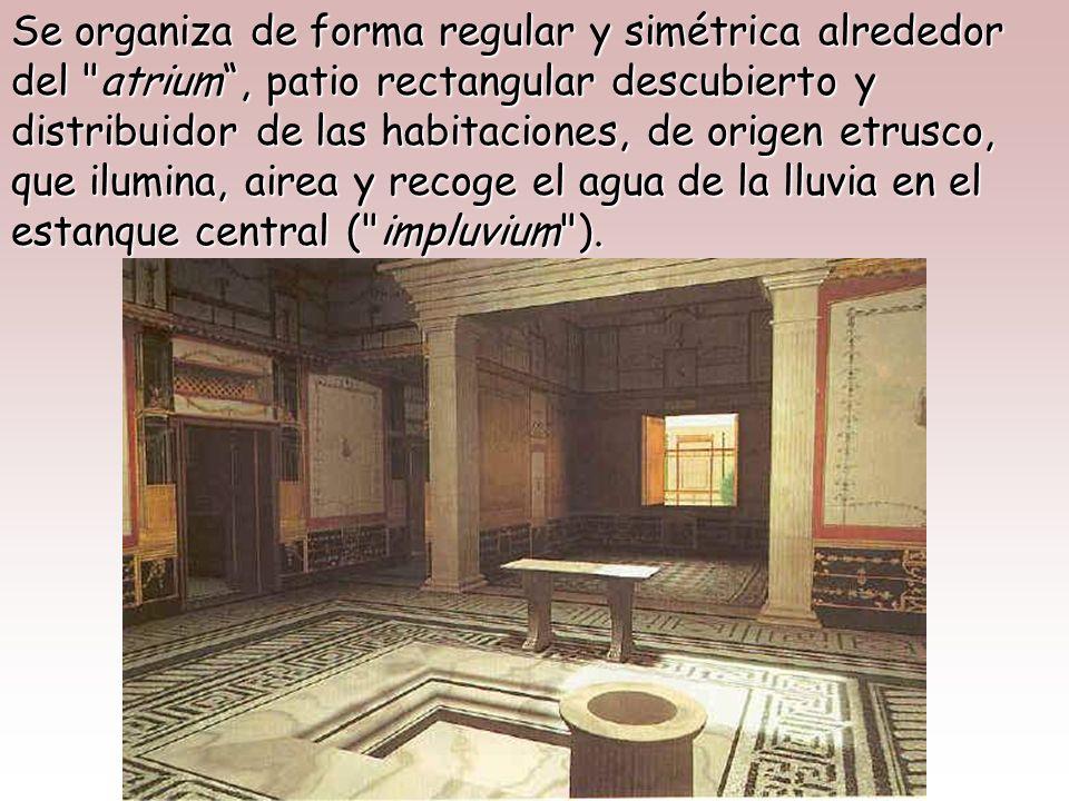 La casa tradicional romana,