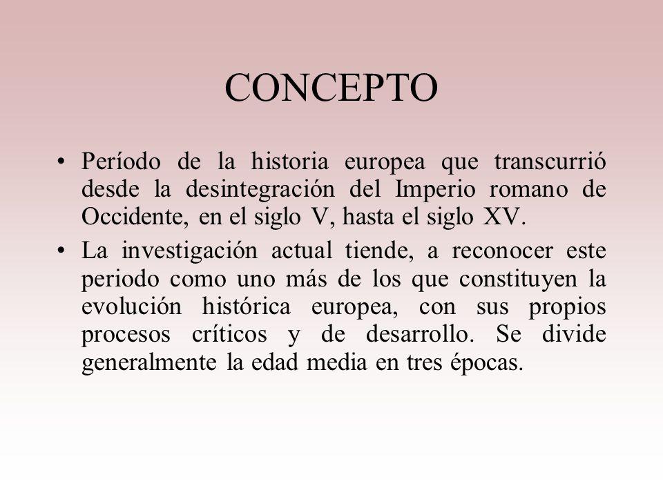 Edad Media 476 d.C a 1453 d.C Nivel 11 Ciencias Sociales