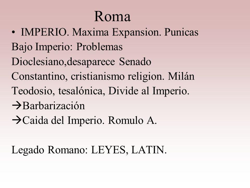 ROMA Magistraturas Cónsules, jefe militar, financiera, justicia Pretores, Jueces Censores, vigilancia costumbres Ediles Curules, vigilan mercados, esp