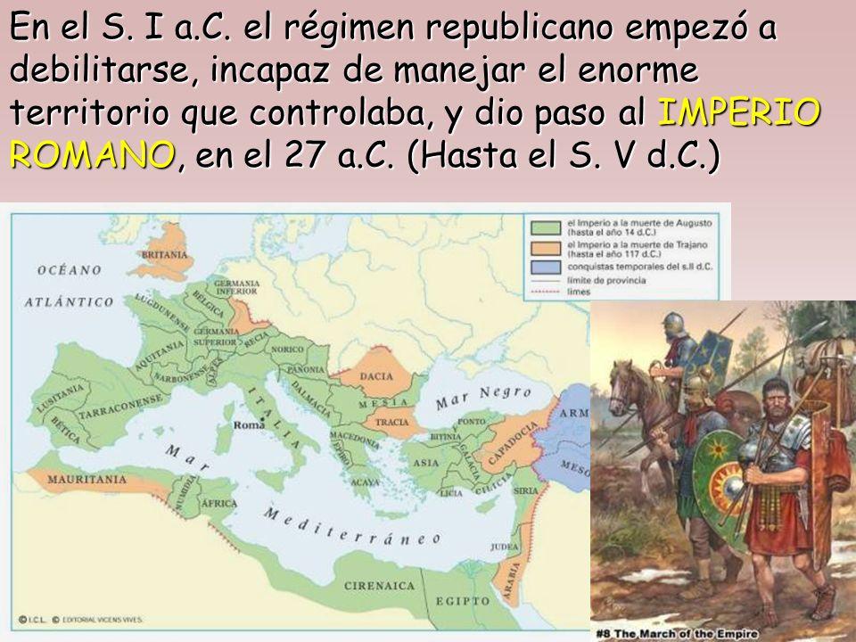 En los siglos siguientes, Roma llevó a cabo una serie de conquistas que le permitieron unificar la Península Itálica y dominar el Mediterráneo.