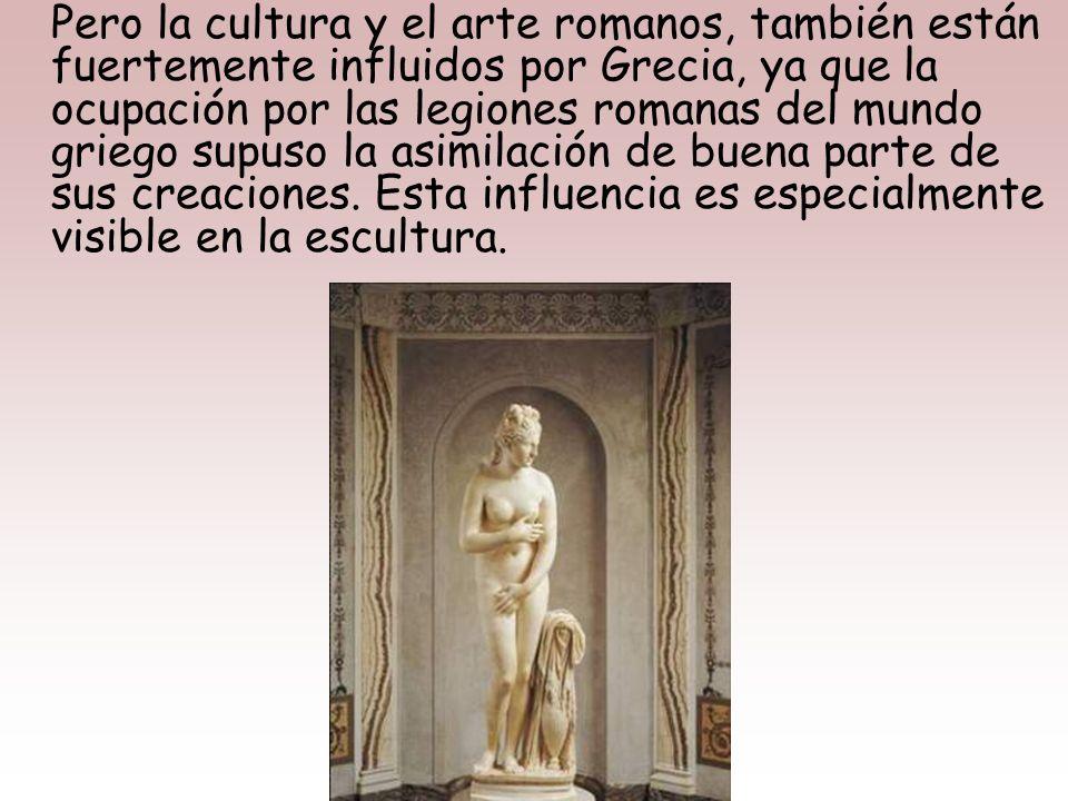 La Loba Capitolina fundida en bronce, símbolo de Roma, es una obra etrusca, y bien puede entenderse como el símbolo de ese traspaso de cultura que Etr