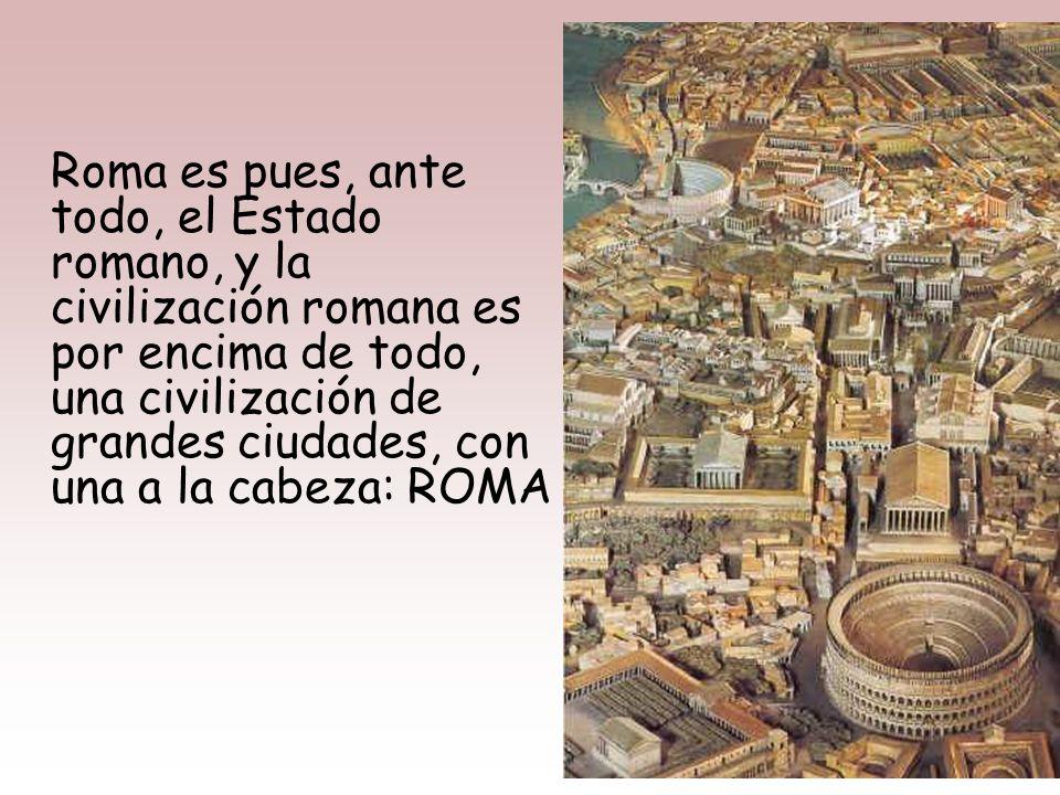 En general, el arte romano es PRAGMÁTICO y TÉCNICO, especialmente la arquitectura. Predomina un arte estatal (de la Res Pública), que cumple una doble