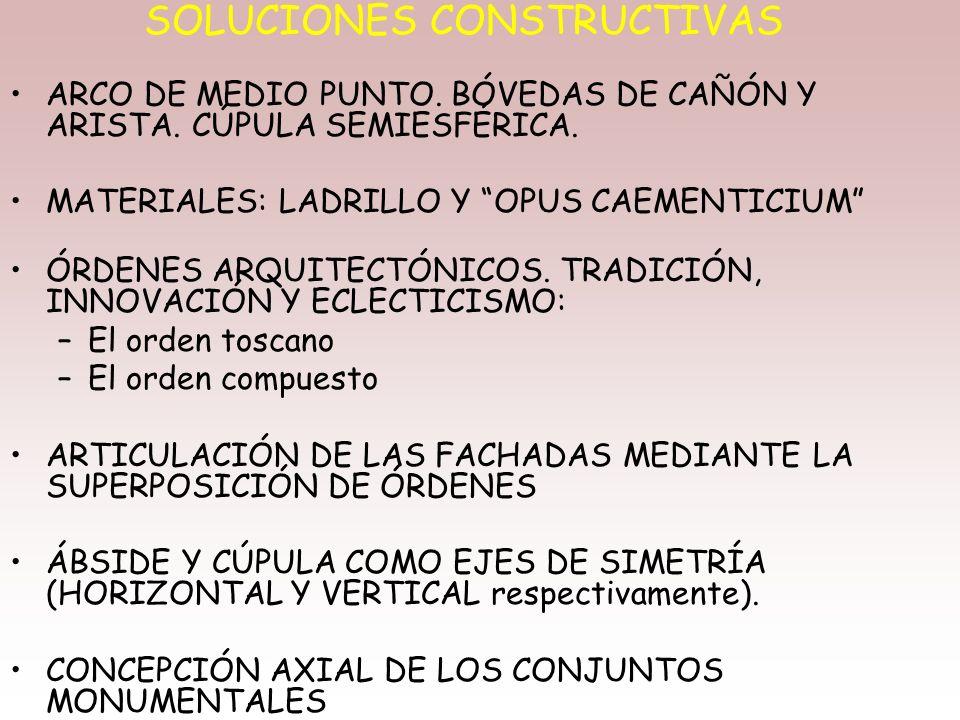 LAS COMUNICACIONES Y OBRAS DE INGENIERÍA. ARQUITECTURA FUNCIONAL. –Calzadas –Puentes –Acueductos –Pantanos –Cloacas –Murallas