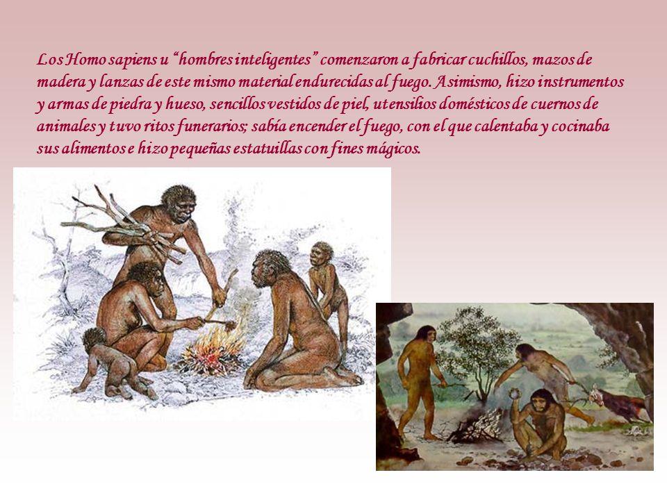 Eje cronológico Piedra tallada Piedra pulida Piedra pulida Primeras tumbas -80.000 Cambio climático -10.000