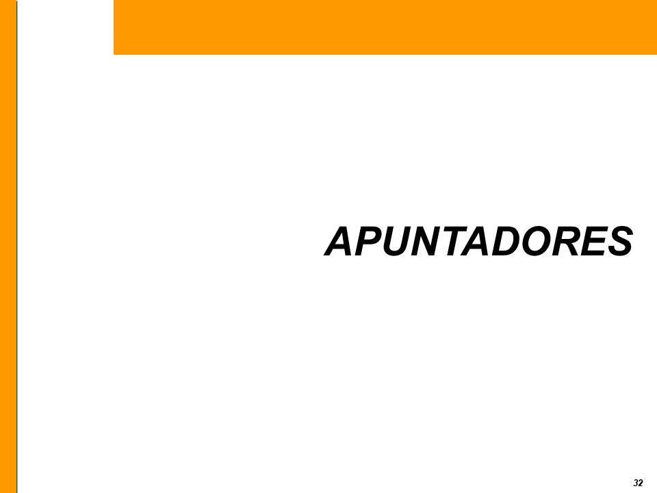32 APUNTADORES 32