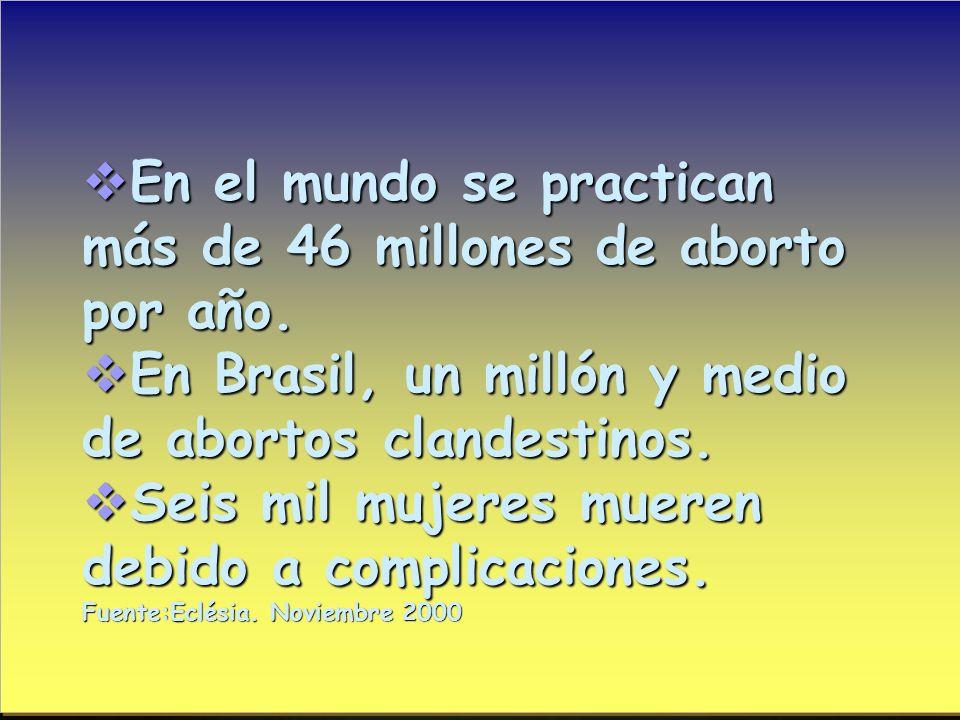 En México 12% de los nacimientos son de madres menores de 20 años. En México 12% de los nacimientos son de madres menores de 20 años. En Brasil, nacen