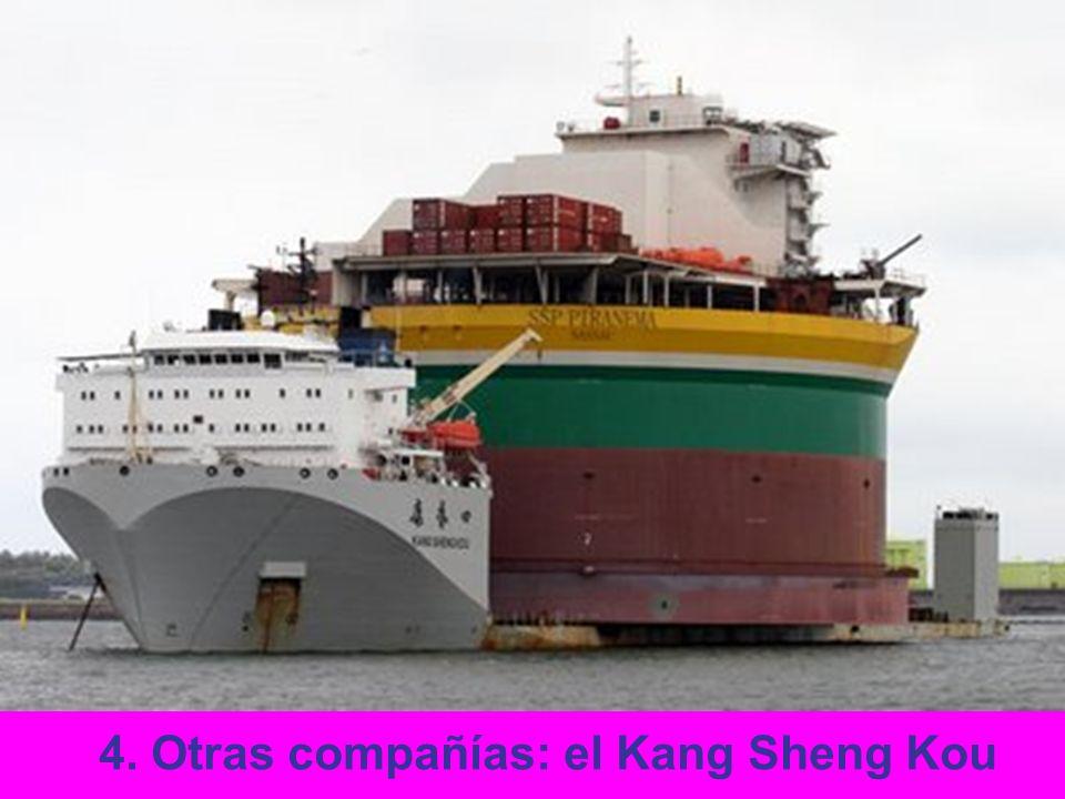 4. Otras compañías: el Kang Sheng Kou