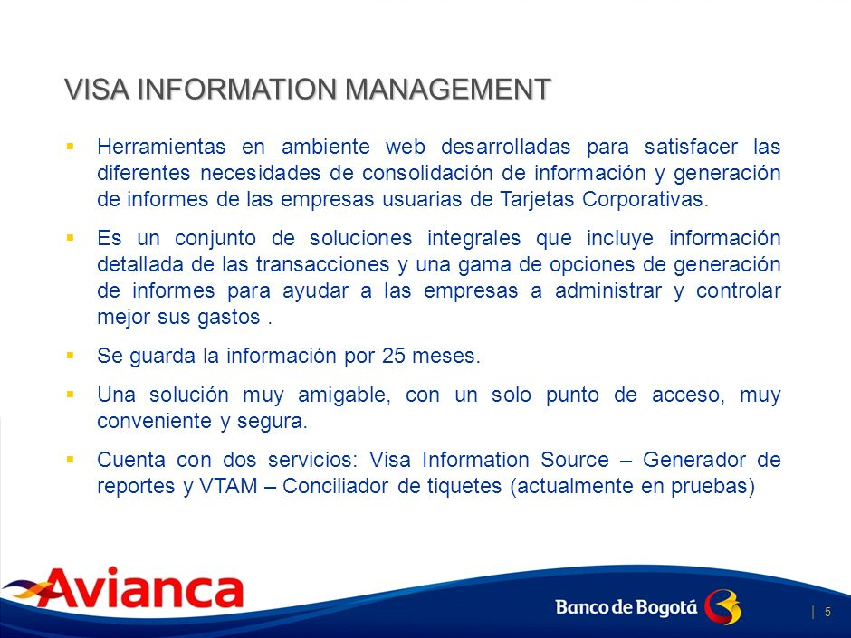 | 4 Visa Information Management