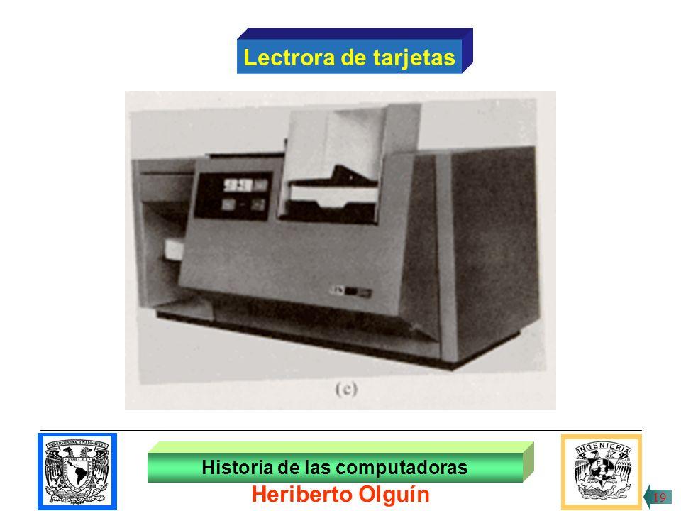 30/ABR/1999 Historia de las computadoras Heriberto Olguín 18