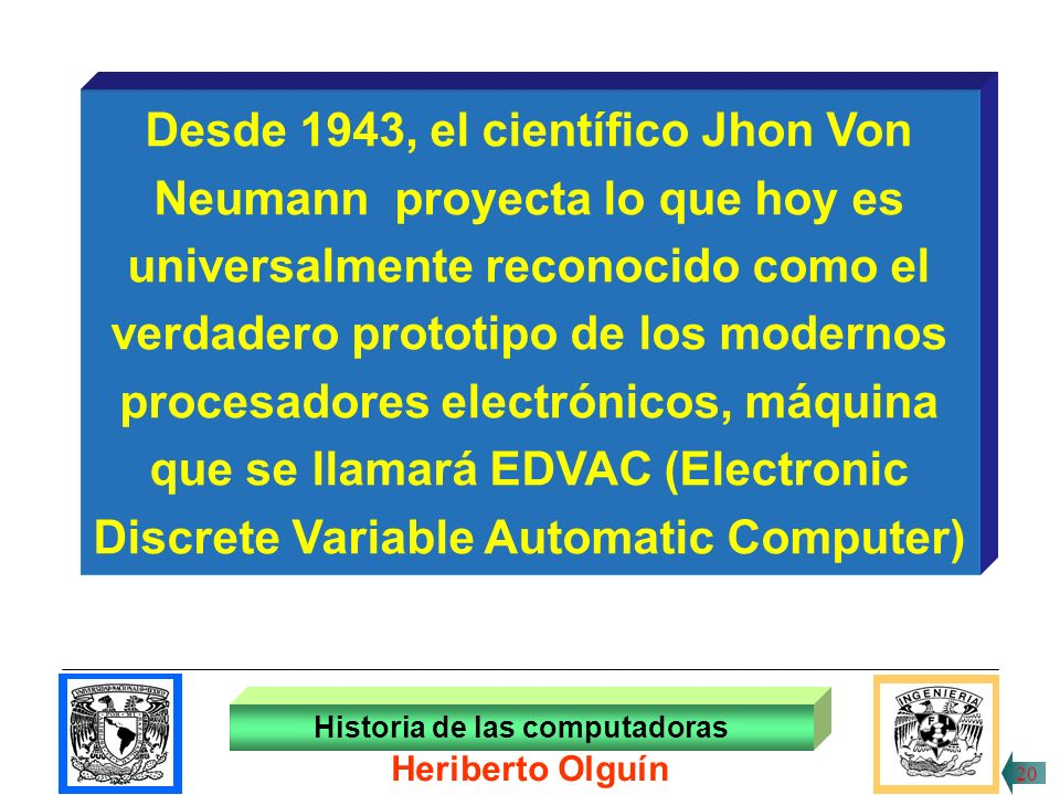 30/ABR/1999 Lectrora de tarjetas Historia de las computadoras Heriberto Olguín 19