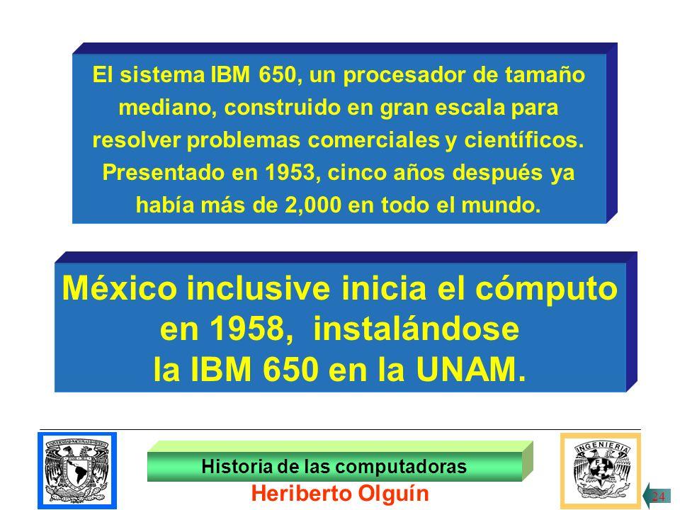 30/ABR/1999 Historia de las computadoras Heriberto Olguín 23