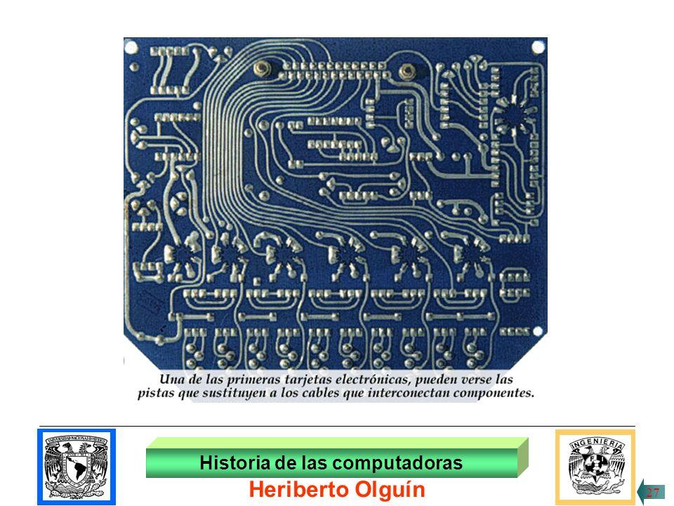 30/ABR/1999 El bulbo fue sustituido por el descubrimiento del transistor y los diodos, que combinándolos se diseñaron circuitos lógicos; éstos se pudieron colocar en lo que se llamó tarjetas de circuitos impresos.