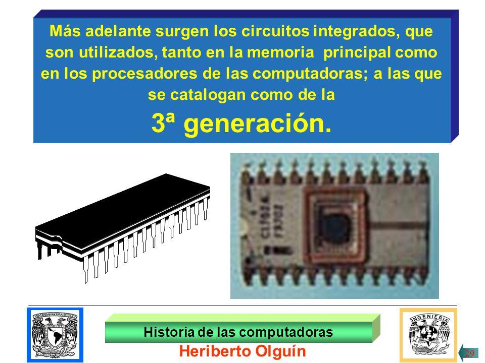 30/ABR/1999 Historia de las computadoras 28 Heriberto Olguín