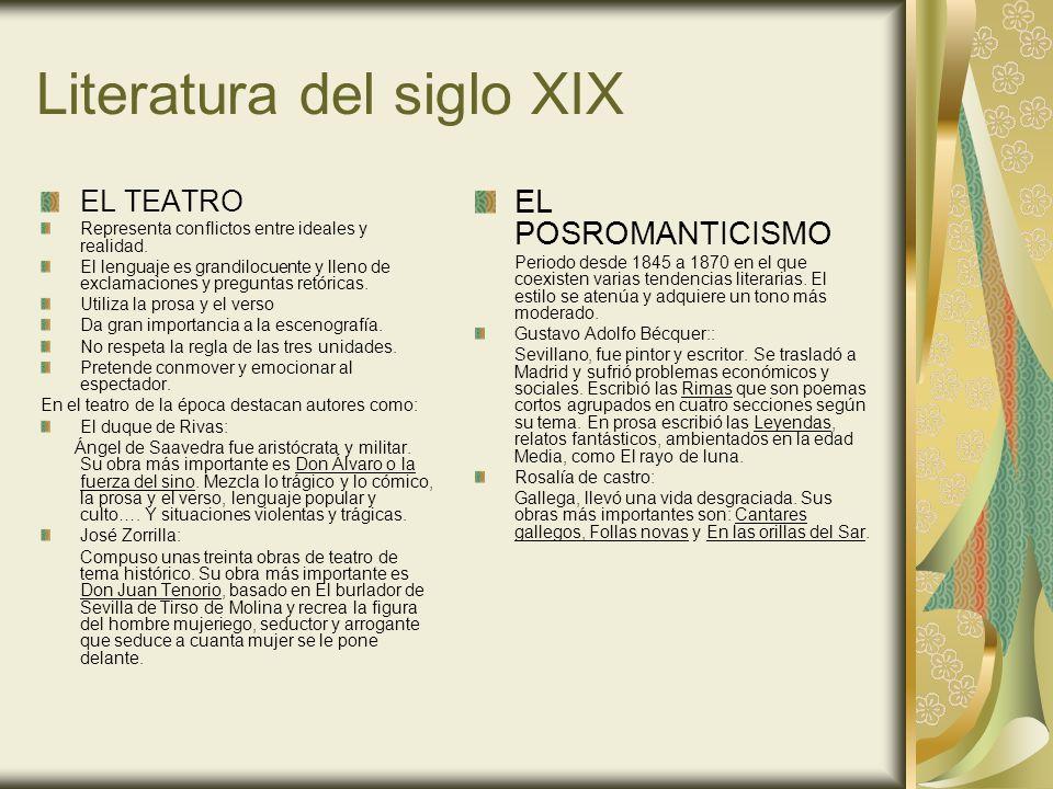Literatura del siglo XIX Fragmento de Rimas.De Gustavo Adolfo Bécquer.