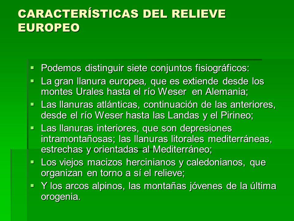 ESTRUCTURA GEOLÓGICA DE EUROPA 1.LOS ZÓCALOS ARCAICOS - Era Protezoica - Período Precámbrico - Inicio fotosíntesis.
