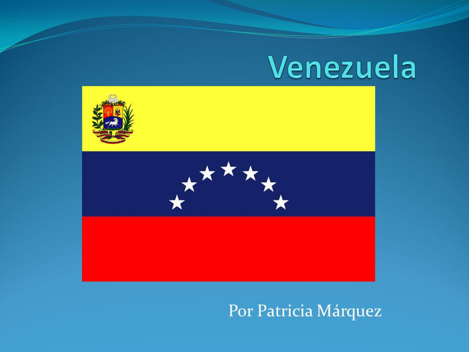 Venezuela est á situada al norte de Am é rica del Sur.