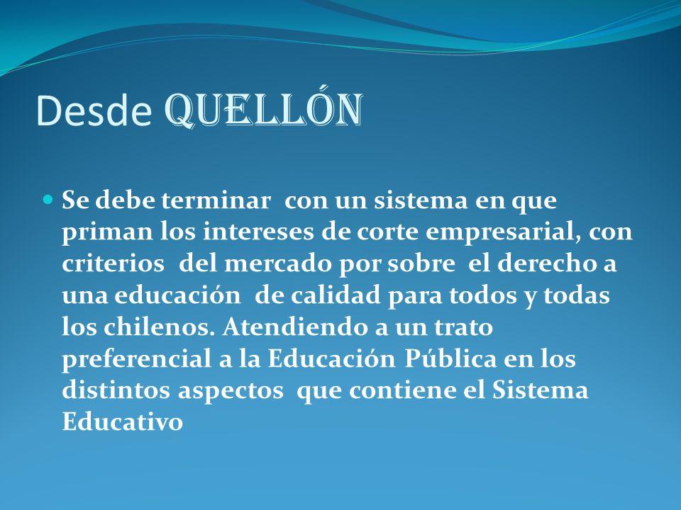 Desde Quellón