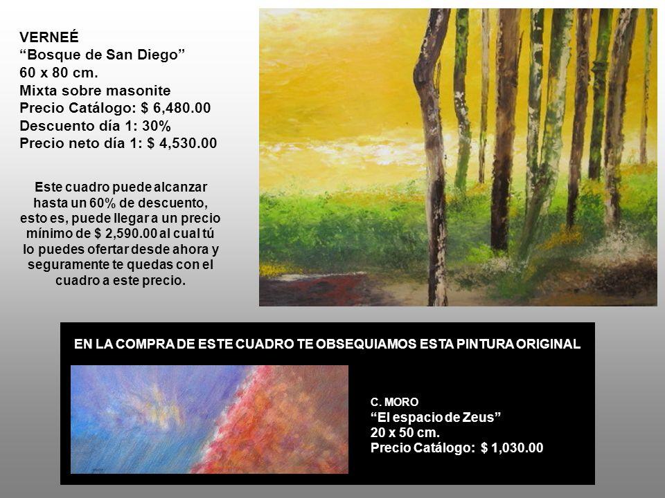 VERNEÉ Bosque de San Diego 60 x 80 cm.