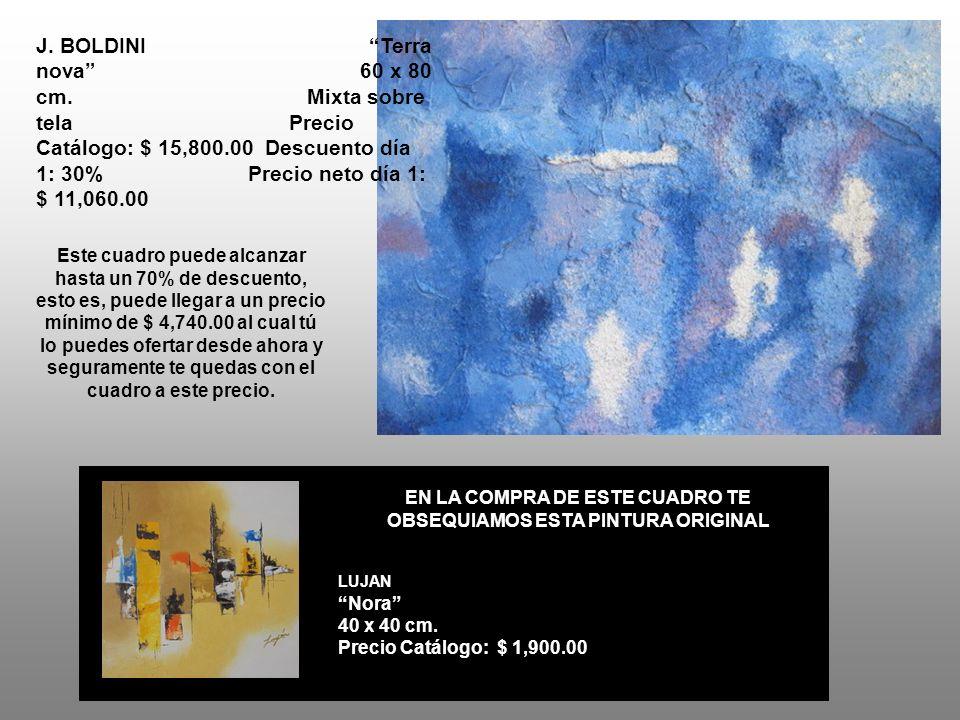 J. BOLDINI Terra nova 60 x 80 cm.