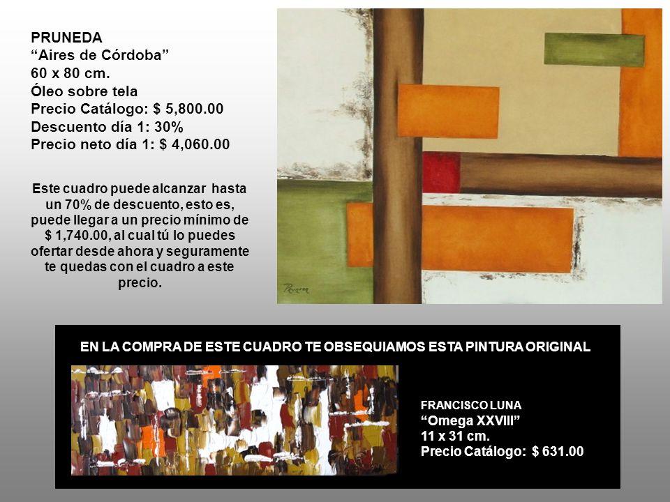 PRUNEDA Aires de Córdoba 60 x 80 cm.