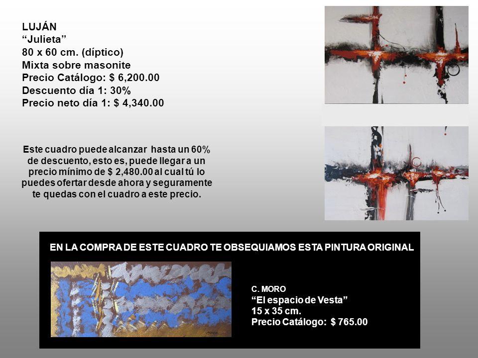 EN LA COMPRA DE ESTE CUADRO TE OBSEQUIAMOS ESTA PINTURA ORIGINAL C.