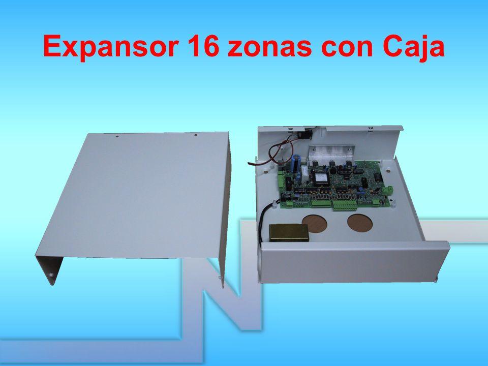 Expansor 16 zonas con Caja