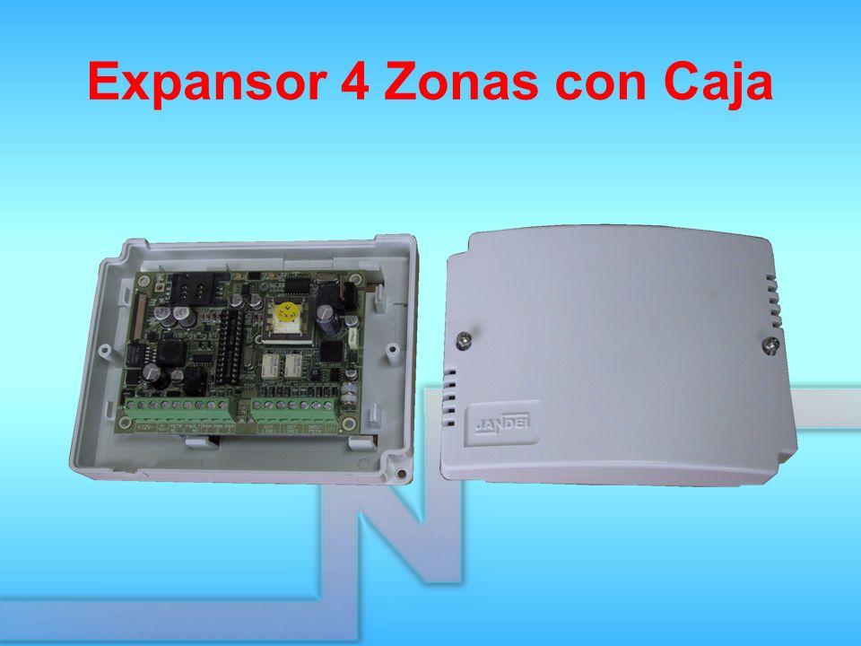 Expansor 4 Zonas con Caja