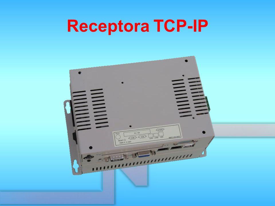 Receptora TCP-IP