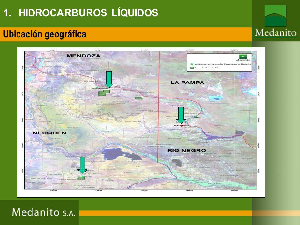 CAPTACIÓN: La producción del yacimiento es captada en baja presión por una red de gasoductos de captación en su mayor parte de 24 pulgadas, mezclado con el gas dulce pertenecientes a los mismos productores.