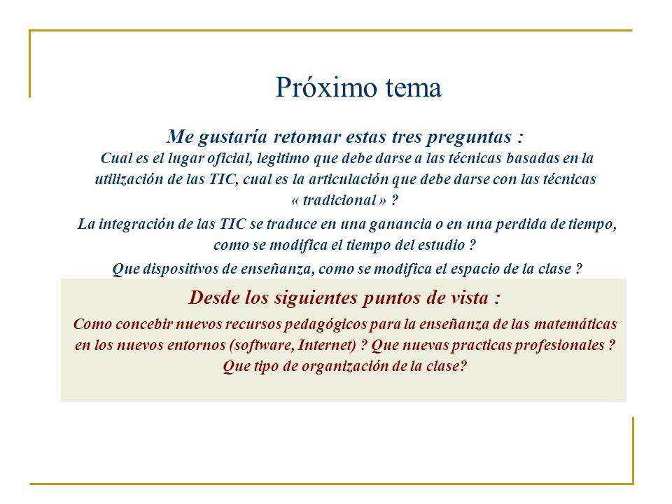 Referencias útiles luc.trouche@inrp.fr Lagrange J.-B., Artigue M., Laborde C.